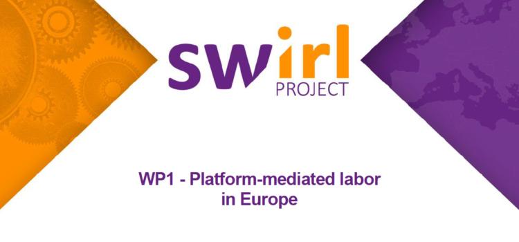 WP1 – Platform-mediated labor in Europe
